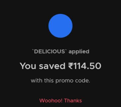 Zomato Food Offer